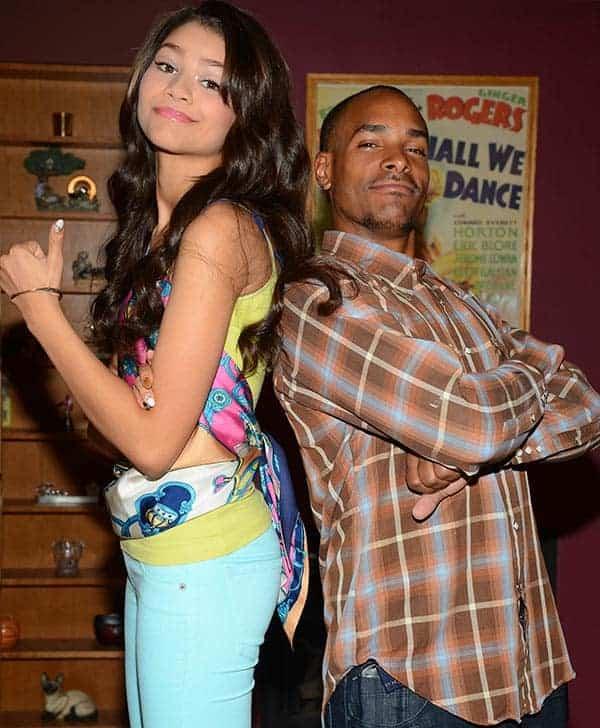Zendaya with her brother