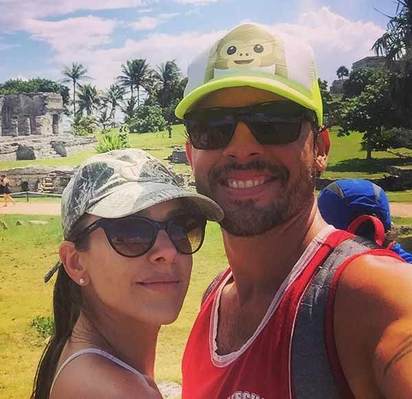 Ana Kasparian with husband Christian Lopez vacation in Tulum, Mexico