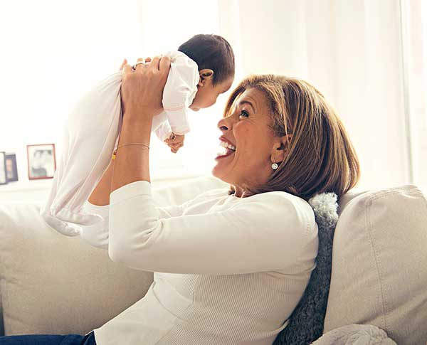 Hoda Kotb with her adopted daughter Haley Joy