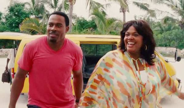 Lamman Rucker with rumored girlfriend/co-star Jill Scott