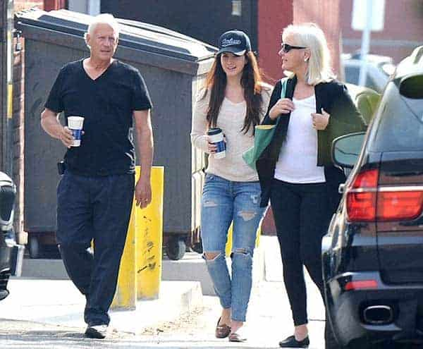 Lana Del Rey was seen with her parents/family Rob Grant and Patricia Grant in West Hollywood