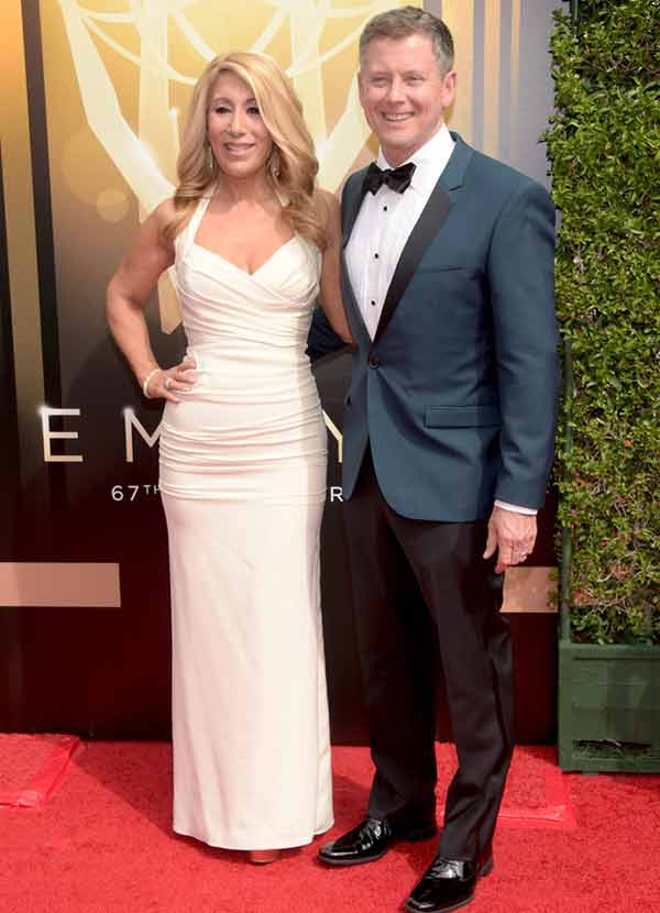 Lori Greiner with her husband Dan Greiner