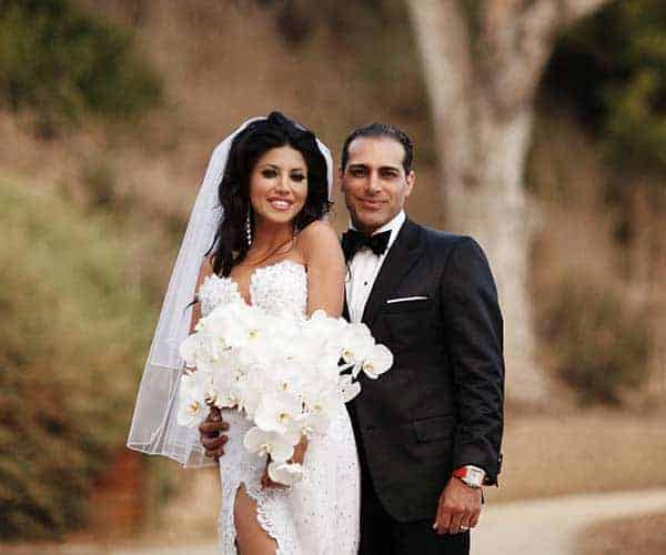 Manny Khoshbin with beautiful, Wife Leyla Milani
