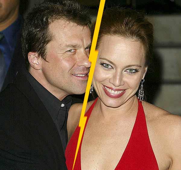 Melinda Clarke divorce with her first husband Ernie Mirich