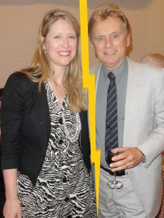 Sherrill Sajak with her ex-husband Pat Sajak