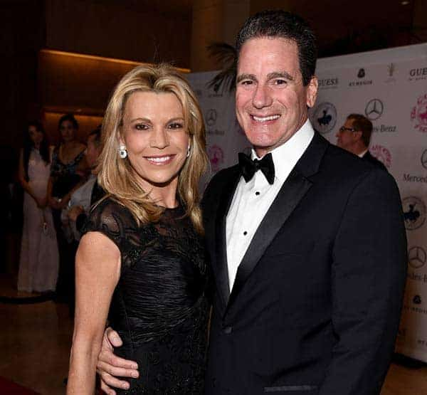 Vanna White with her husband George Santo Pietro