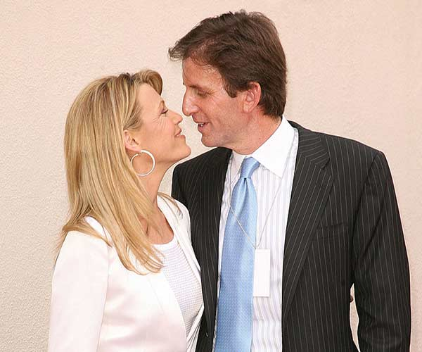 Vanna White with her to be husband Michael Kaye
