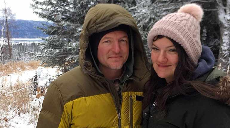Alaskan Atz Lee Kilcher with his wife Jane kilcher