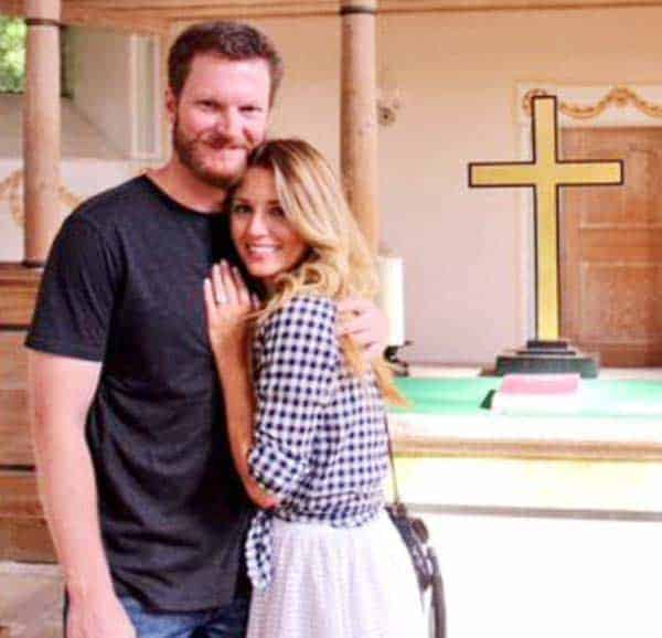 Dale Earnhardt Jr. proposed his longterm girlfriend Amy Reimann