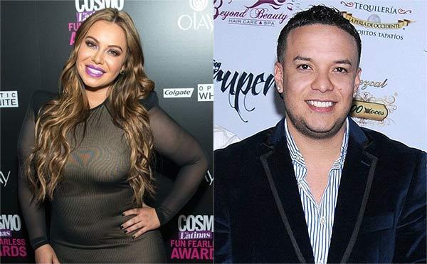 Chiquis Rivera with her boyfriend Lorenzo Mendez