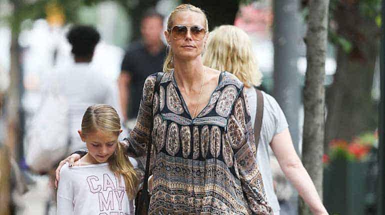 Heidi Klum's daughter Helene Boshoven Samuel