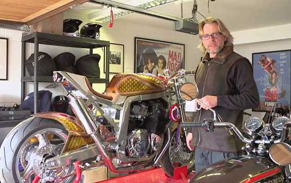 Henry Cole's passion is to design motorcycle