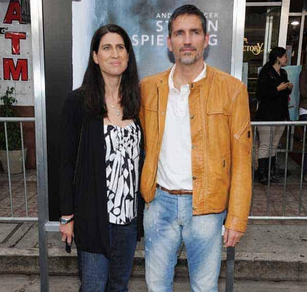 Jim Caviezel with his wife Kerri Browitt