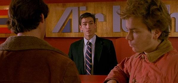 Jim Caviezel scene in movie 'My Own Private Idaho'