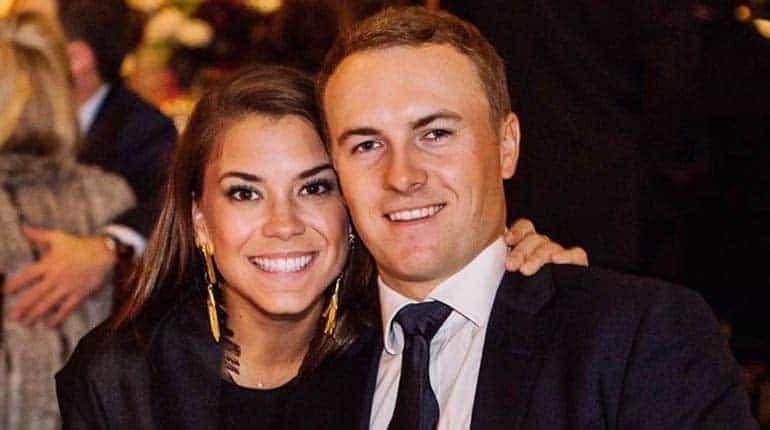Jordan Spieth with Girlfriend Annie Verret