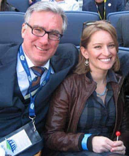 Katy Tur with political commentator boyfriend Keith Olbermann