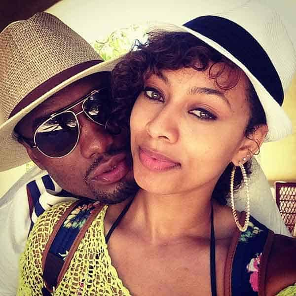 Serge Ibaka dating his girlfriend Keri Hilson