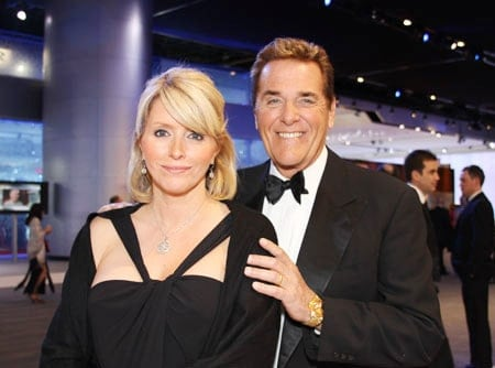 Beautiful picture of Chuck Woolery with wife Kim Woolery