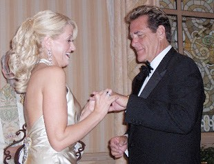 Chuck Woolery married with his wife Kim Woolery in 2006