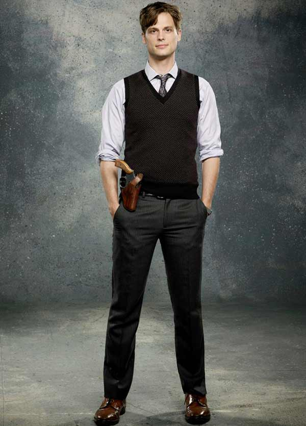 Handsome Matthew Gray Gubler plays Spencer Reid character in 'Criminal Mind'