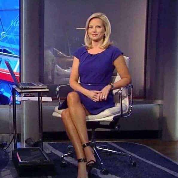 Beautiful reporter in Fox News Shannon
