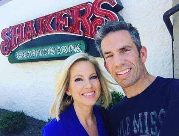 Sheldon Bream and his wife Shannon Bream