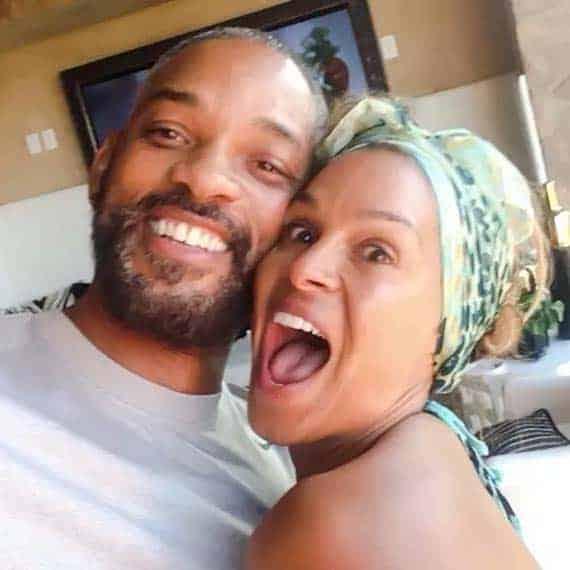 Sheree Zampino with her husband Will Smith