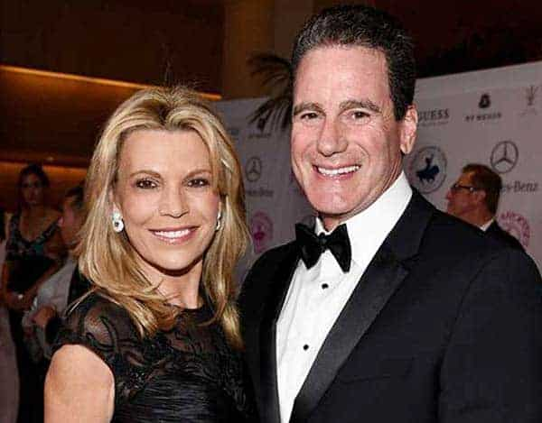 George Santo Pietro and his ex-wife Vanna White