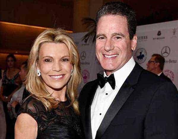 George Santo Pietro and his ex-wife Vanna White