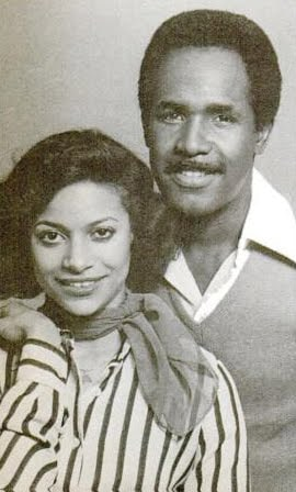 Debbie Allen with her first husband Winnfred Wilford married in 1973