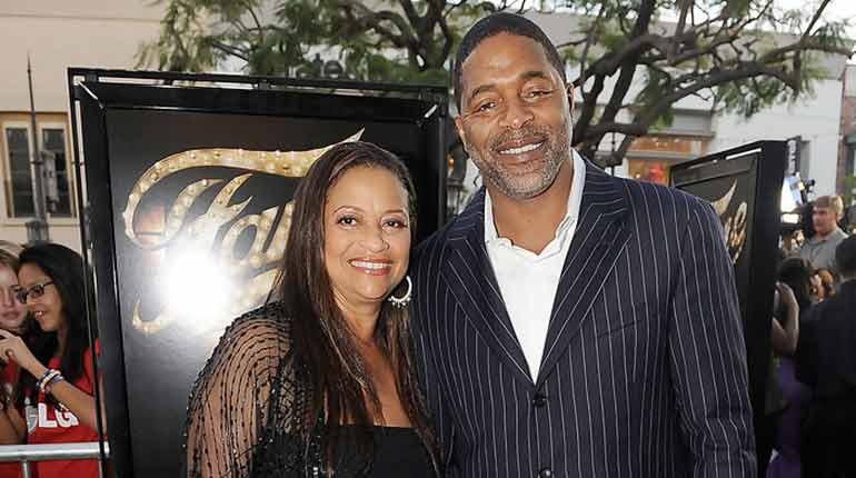 Winnfred Wilford's ex-wife Debbie Allen and her present husband Norm Nixon