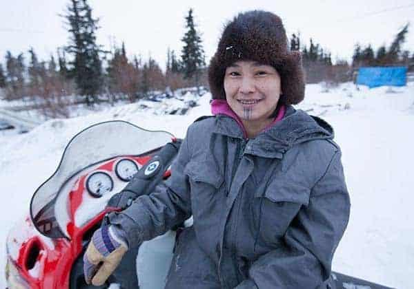 'Life Below Zero' star Agnes Hailstone hunting