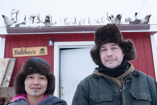 Happily Married Life: 'Life Below Zero' Chip Hailstone and his wife Agnes Hailstone