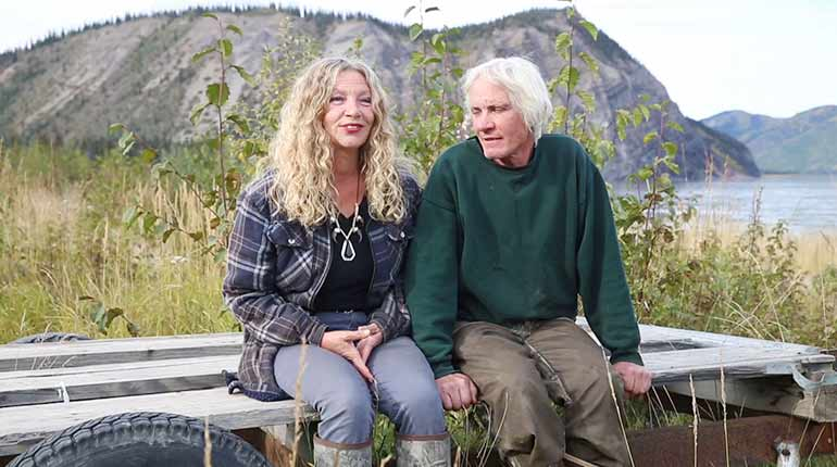 Andy and Kate Bassich from 'Life Below Zero'