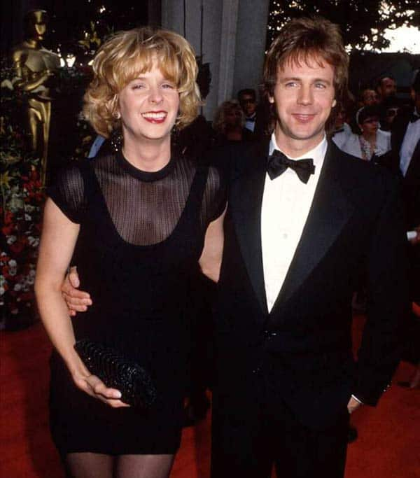 Paula Zwagerman with her husband Dana Carvey in Red Carpet function