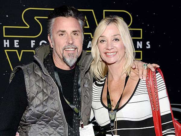 Suzanne Rawlings seen happy with her second-time married husband Richard Rawlings