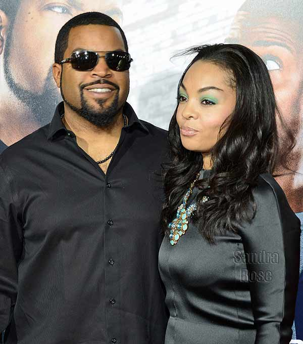 Happily married couple Kimberly Woodruff and her husband Ice Cube