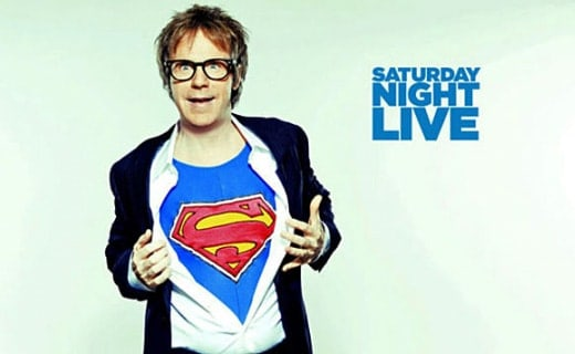 Dashing picture of Dana Carvey on popular show SNL