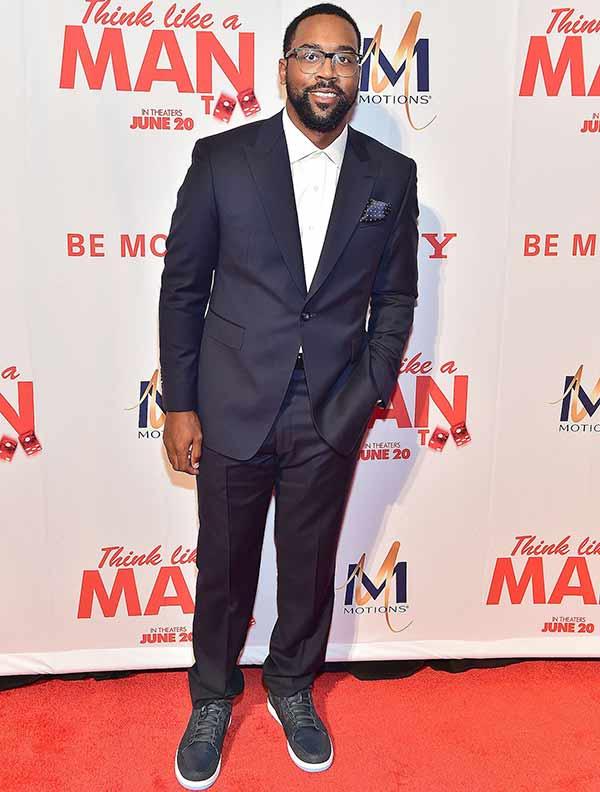 Michael Jordan's son Marcus Jordan full body picture