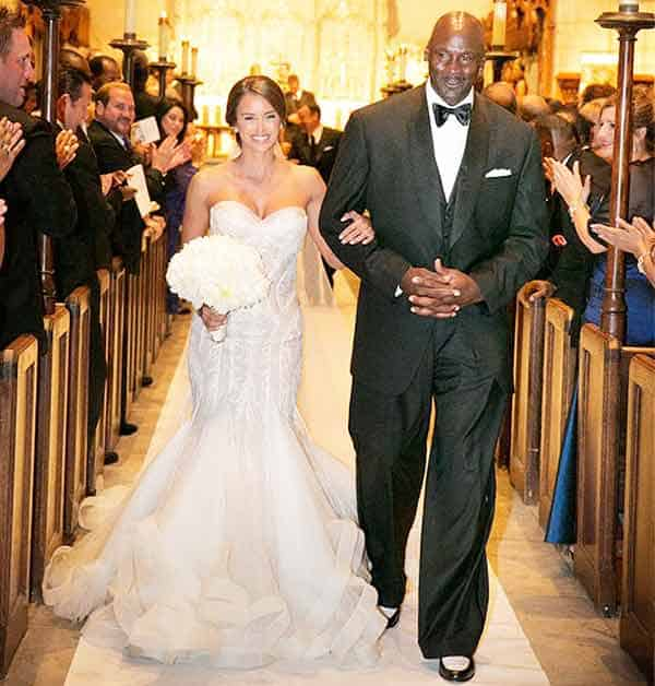 Michael Jordan happily married his wife Yvette Prieto in 2013