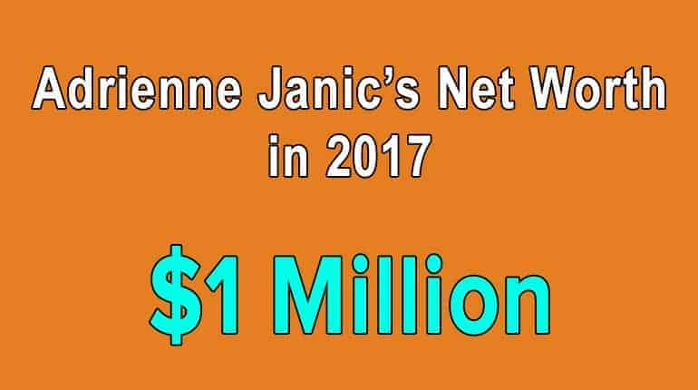 Actress Adrienne Janic has an unbelievable source of income