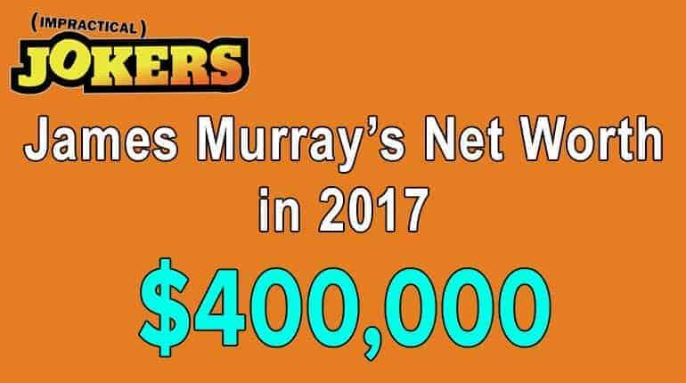 James Murray's net worth is impressive