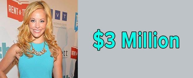 Amy Paffrath's net worth is $3 Million