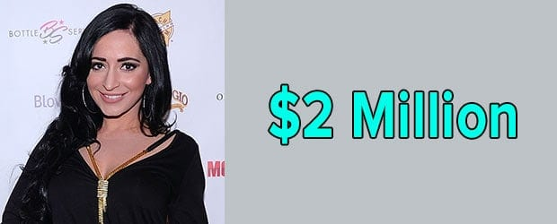 Angelina Pivarnick's net worth is $2 Million