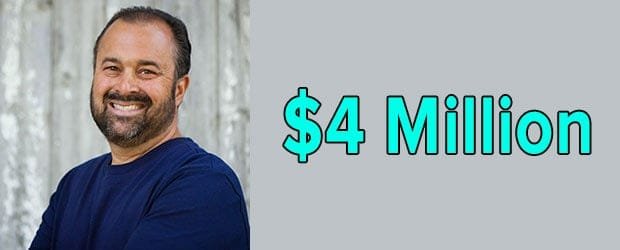 Frank Fritz's net worth is $4 Million