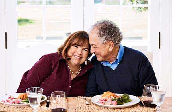 Happy couple: Ina Garten happily having breakfast with husband Jeffrey Garten