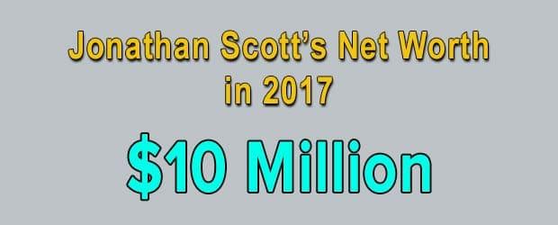 Jonathan Scott's net worth is $10 Million