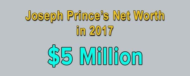 Joseph Prince's net worth is $5 Million