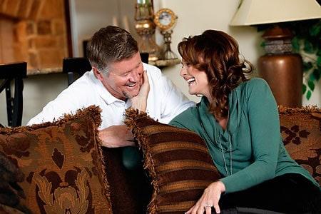 Cute Couple: Kathy Sabine husband Scott Crawford happy together