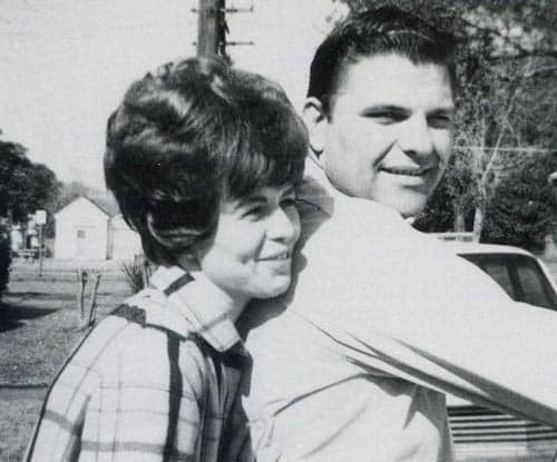 Kenneth Copeland seems happy with his wife Gloria Neece